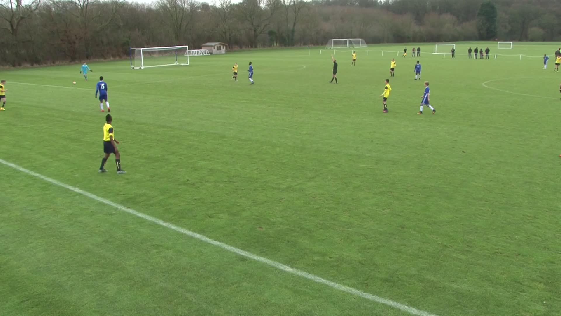 Chelsea U14 V Oxford United